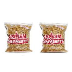 Sangarrr Gurilem Sangar - Kerupuk Pedas - Cemilan - Paket 2 Bungkus x 100gr