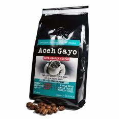 Dapatkan Segera Sentra Kopi Aceh Gayo Arabika Whole Bean Biji Kopi Roasted Arabica 200 Gram