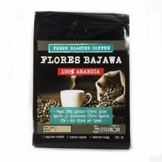 Jual Sentra Kopi Flores Bajawa Arabica 500 Gram Bubuk Arabika Ground Coffee Sentra Kopi Branded