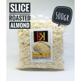 Promo Slice Roasted Almond Kacang Almond Iris Panggang 500Gr Blue Diamond Terbaru