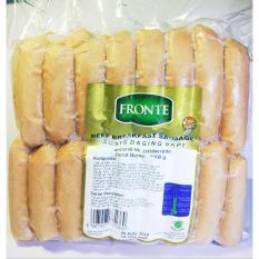 Beli Sosis Breakfast Beef Hotel Breakfast Sausage Fronte 50 Pcs 1Kg Murah Di Jawa Barat