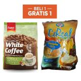 Super White Coffee Hazelnut 450Gr Free Super Cereal Coklat 600Gr Super Diskon 30