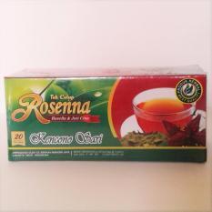 Teh Celup Rosenna - Rosella & Jati Cina Kencono Sari - Herbal Pelangsing Alami