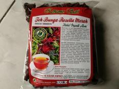 Teh Seduh Bunga Rosella Merah Kencono Sari