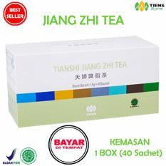 Terbukti Tiens Jiang Zhi Tea Teh Hijau Pelangsing Herbal Paket Hemat 40 Sachet Jawa Timur Diskon