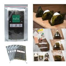 TheOrganicStop Manjun Triangle Onigiri Sushi Nori Seaweed Rumput Laut isi 5 lembar