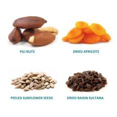 TheOrganicStop Trail Mix (Nuts/ kacang, Dried Fruits/ buah kering, Seeds/ biji sehat) Energy Booster 200 gram