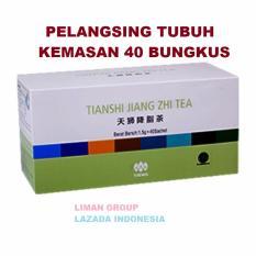 Jual Tiens Jiang Zhi Tea Teh Hijau Pelangsing Herbal Paket Hemat 40 Sachet By Liman Group Tiens Di Jawa Timur
