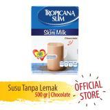 Harga Tropicana Slim Non Fat Susu Skim Chocolate 500 Gr Yang Murah Dan Bagus