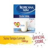 Jual Tropicana Slim Non Fat Susu Skim Plain 1000 Gr Tropicana Slim Original