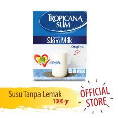 Tropicana Slim Non Fat Susu Skim - Plain - 1000 gr