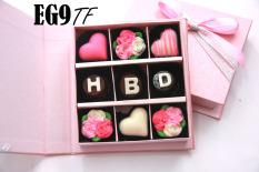 Trulychoco Cokelat Hadiah Ulang Tahun Hbd Tutup Hardcover Pink Original