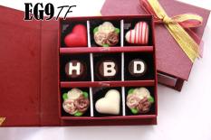 Beli Trulychoco Cokelat Hadiah Ulang Tahun Hbd Tutup Hardcover Red Online Terpercaya