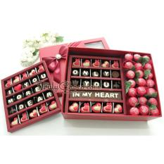 Harga Trulychoco Cokelat Love Editions Chocogift Dan Choco Bouquet Exclusive Red Terbaru