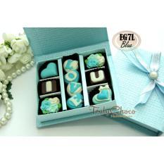 Ulasan Trulychoco Cokelat Love Editions I Love U Tutup Hardcover Blue