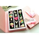 Toko Trulychoco Cokelat Love Editions I Love You Tutup Hardcover Pink Murah Di Jawa Timur