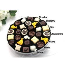 Spek Trulychoco Cokelat Praline Toples 8 Rasa 56Pcs Trulychoco
