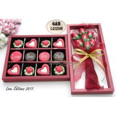 Tips Beli Trulychoco Coklat Love Edition G B Lg12Hb Paket Choco Gift Choco Bouquet