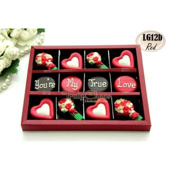 Review of Trulychoco coklat love editions - You're my true love - Tutup Mika Merah anggaran terbaik - Hanya Rp74.655