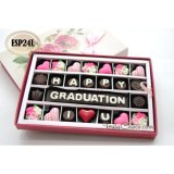 Beli Trulychoco Coklat Wisuda Happy Graduation I Love U Packing Sliding Pink Trulychoco Asli