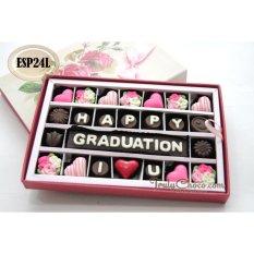 Spek Trulychoco Coklat Wisuda Happy Graduation I Love U Packing Sliding Pink Jawa Timur