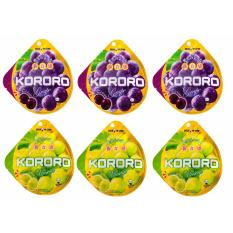 Jual Uha Kororo Mix Grape And Muscat 6 Pack 40 G Termurah