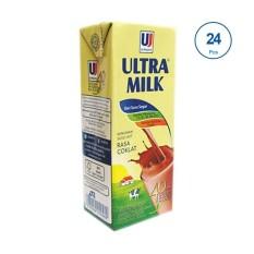 Ultra Jaya Ultra Milk Cokelat Minuman Susu [200Ml/ 24 Pcs]