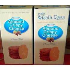 Jual Beli Wisata Rasa Almond Crispy Cheese Original Paket 2 Box Jawa Timur