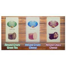 Harga Wisata Rasa Almond Crispy Cheese Paket Campur 3 Rasa 3Pcs Wisata Rasa Baru