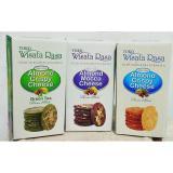 Harga Wisata Rasa Almond Crispy Cheese Paket Mix 3 Box Dan Spesifikasinya