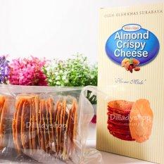 Harga Wisata Rasa Almond Crispy Original Paket 3 Pcs 150 Gr Dan Spesifikasinya