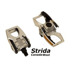 DeltaCycle Strida Folding Pedal - Silver