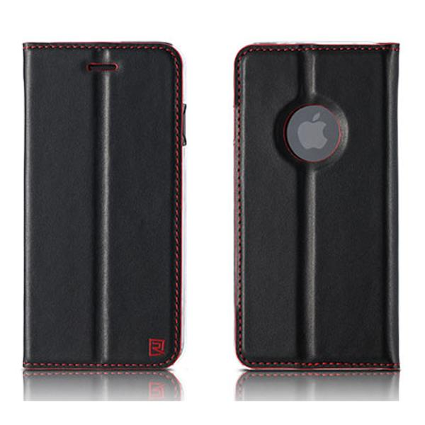 Remax Foldy Series Leather Case for iPhone 7/8 Plus - Black