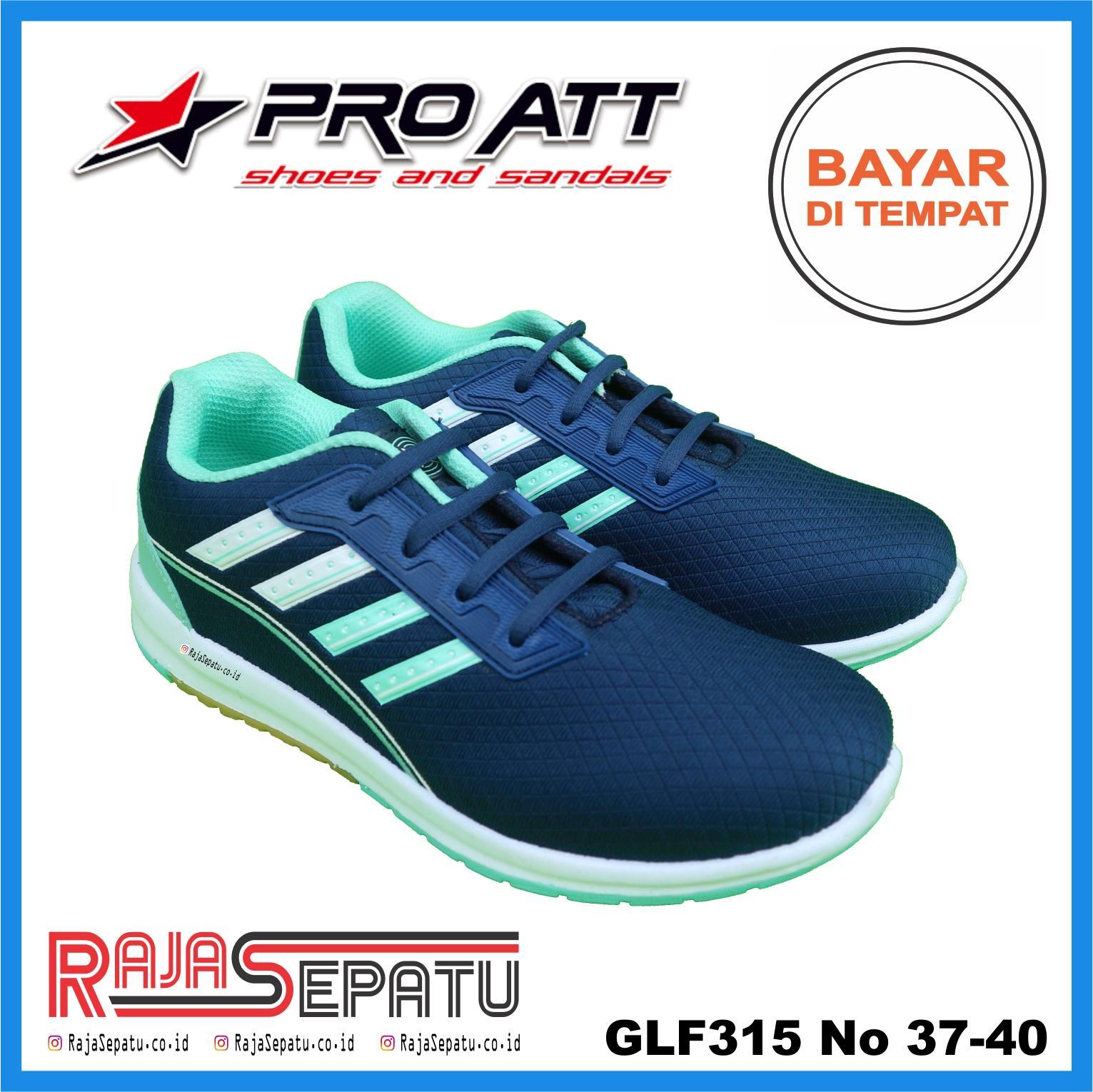 RAJASEPATU - PRO ATT Sepatu Lari Olahraga Wanita Original GLF315   Sepatu  Wanita Gaul Keren Abu ea903037b4