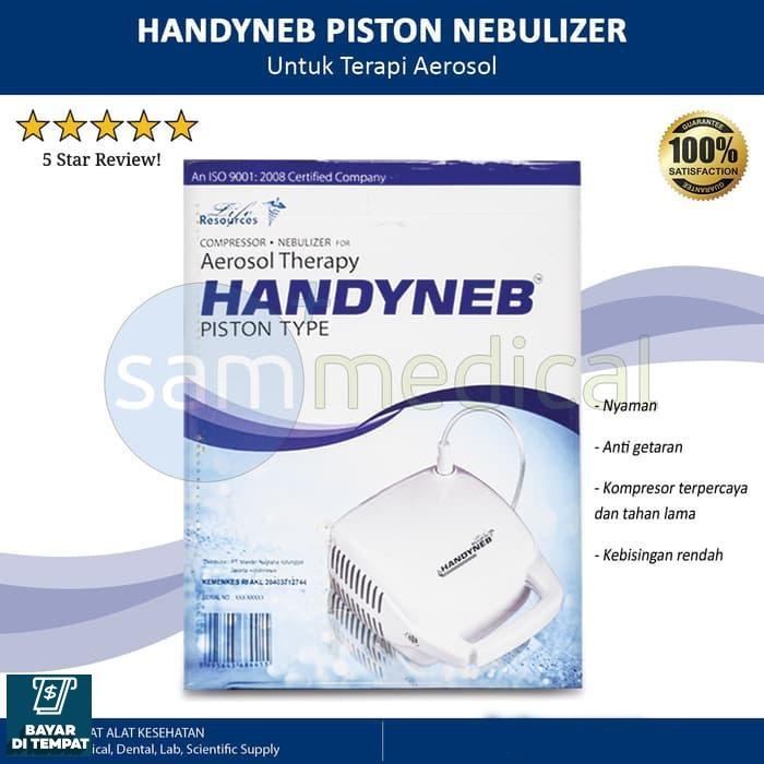 Jamkita COD Liferesources Handyneb Nebulizer Piston / Kompresor