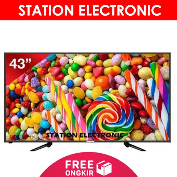 CHANGHONG Full HD USB Movie LED TV 40 Inch - 40G3 - Khusus JABODETABEK