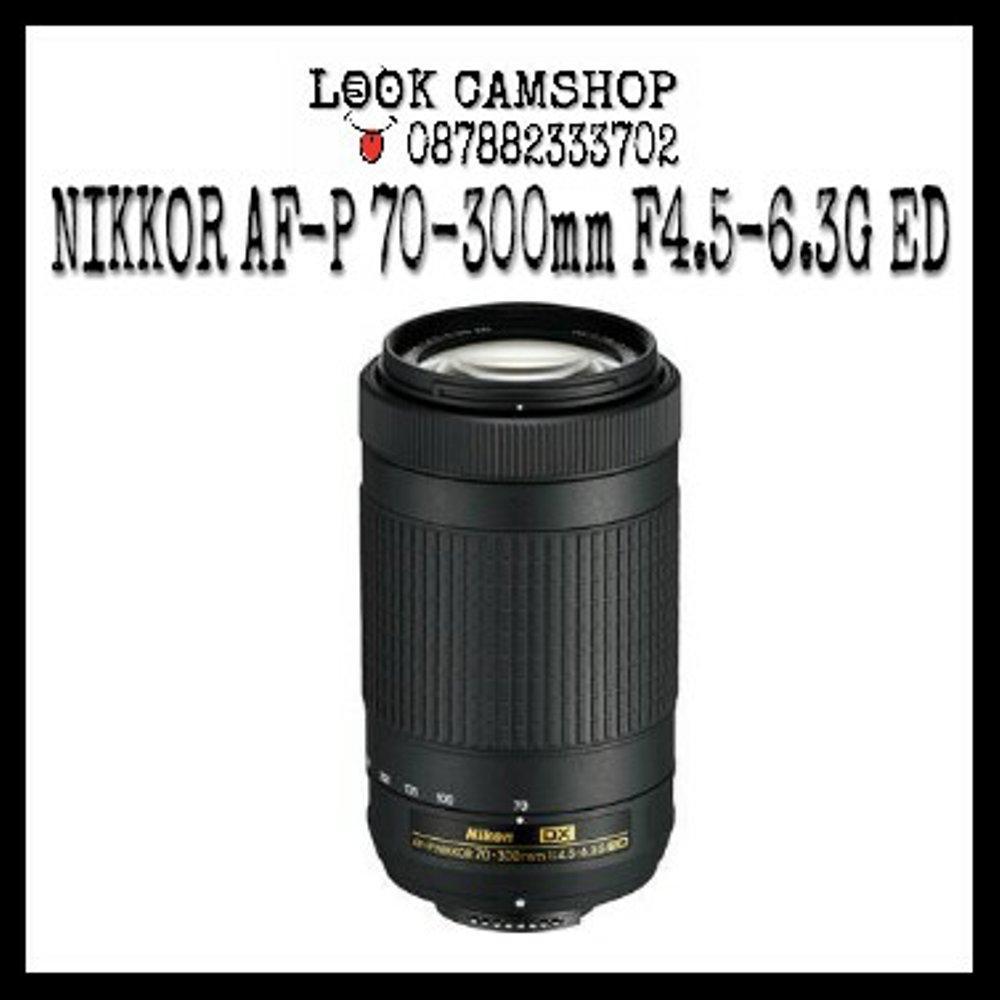 LENSA KAMERA DSLR NIKON NIKKOR AF-P 70-300mm 70-300 F4.5-6.3G ED FOR NIKON D3300 D3400 D5200 D5300 D5500 D5600 D7100 D7200 D500