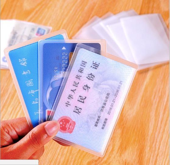 Sarung Penutup Pelindung Kartu plastik Cover Card Id ATM Organizer 941
