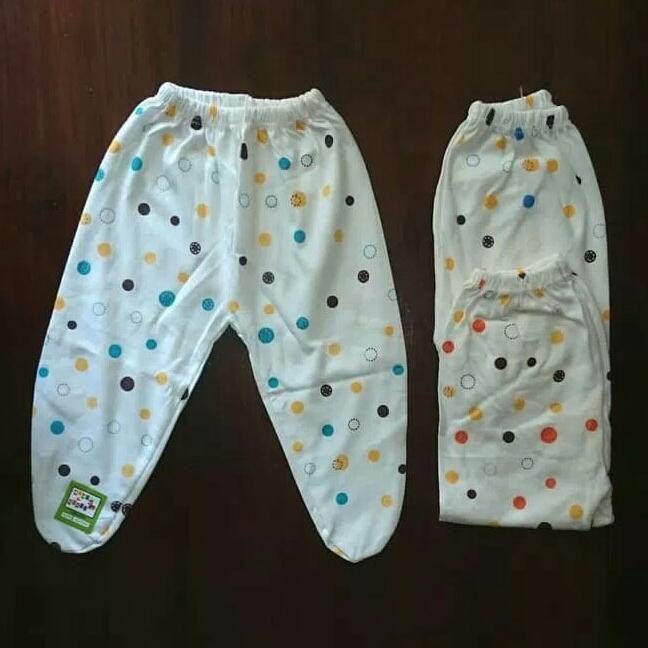 Celana Panjang Bayi Putih Tutup Isi 6 Pcs By Alinka Storage.
