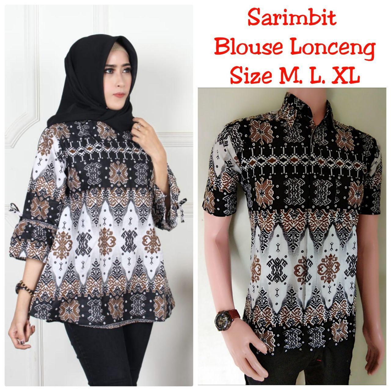 Rp165.000TERMURAH - Couple Batik / Sarimbit Batik / Batik Couple / Sarimbit /Baju Batik Couple / Atasan Batik / Seragam Batik / Blouse / Kemeja Batik / Baju ...