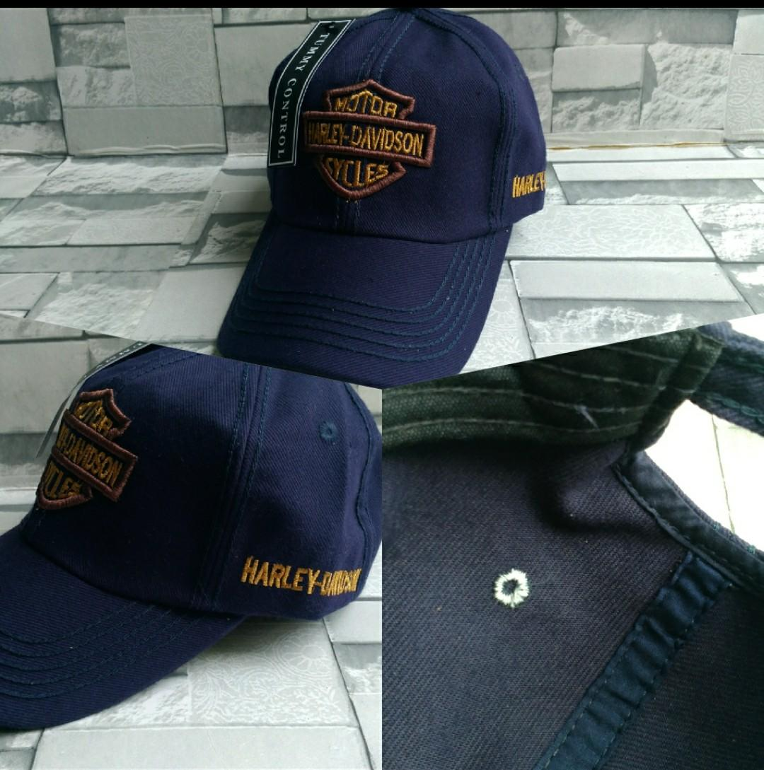 Topi Excluisve Pria - Model Baseball - Bahan Cotton wash import -font  printing computerirzed 0ec22de220