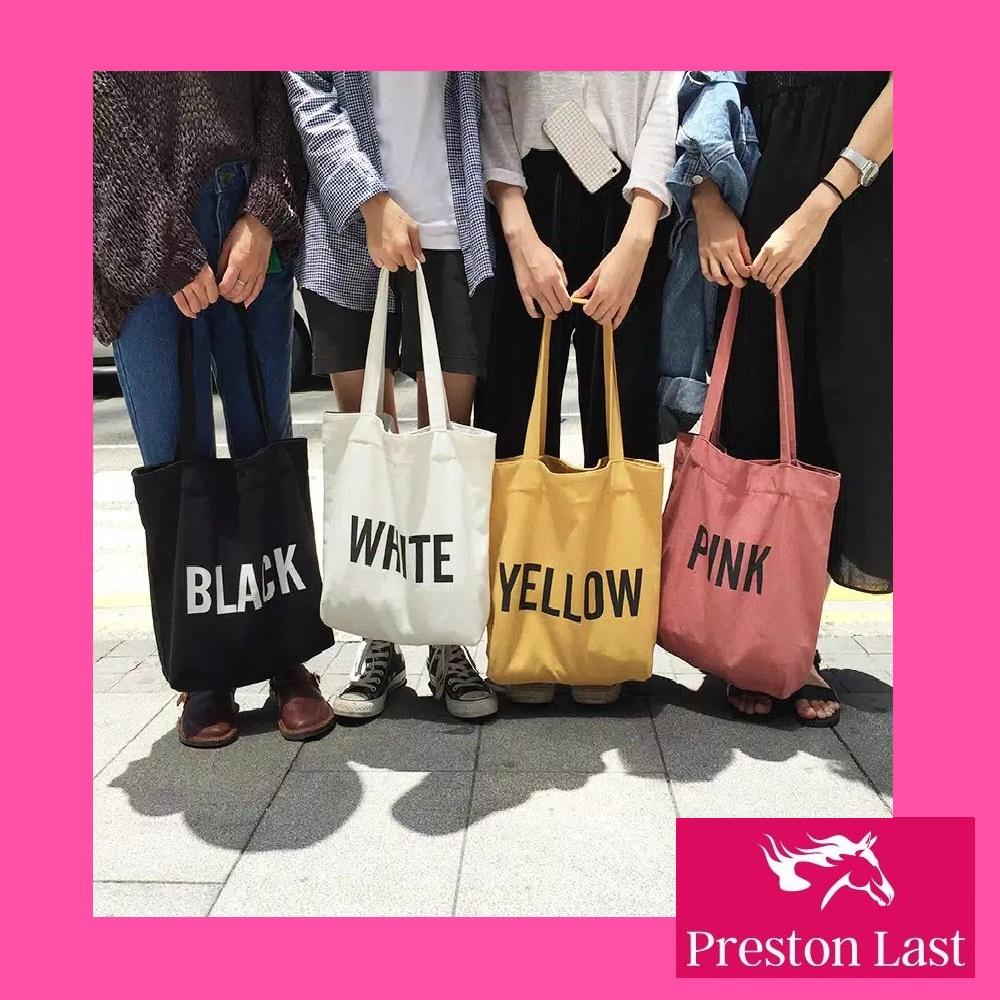 Preston Last -  With Zipper  Tote bag kanvas  totebag   batam bag   fd4437ae28
