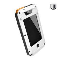 Lunatik Taktik Extreme Hardcase with Gorilla Glass for iPhone 4/4s - Putih