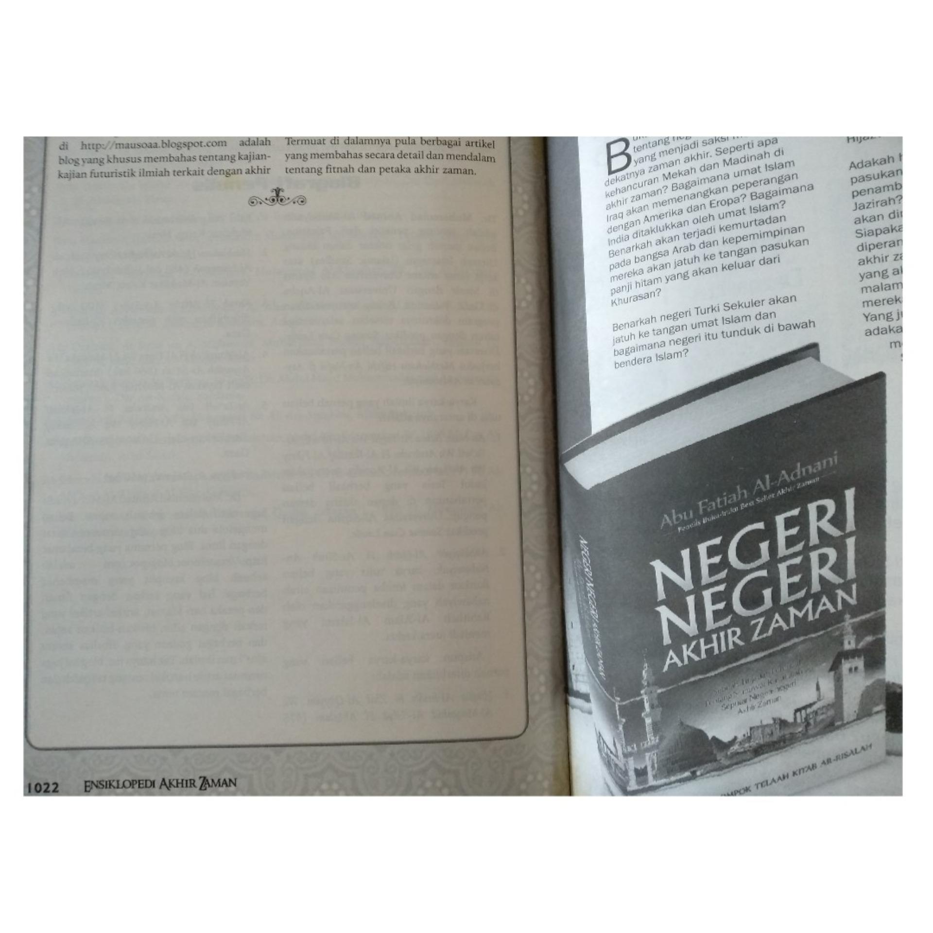 TBIJ - Ensiklopedi Akhir Zaman - Granada Mediatama - Packing Kardus | Lazada Indonesia