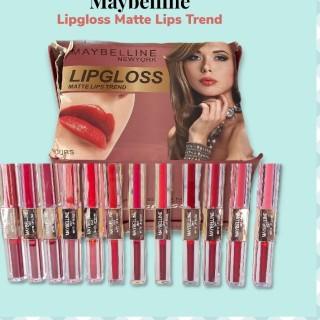 (COD)MAYBELLINE 2in1 LIP CREAM &amp LIP TINT - lip matte cream 2in1 lip tint thumbnail