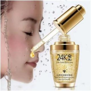 Serum Wajah Glowing Gold 24k Essence Original Bioaqua menyamarkan noda hitam diwajah thumbnail