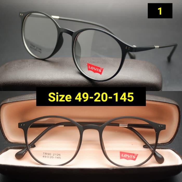 Frame Kacamata levis 2126 Kacamata minus Kacamata Baca 9c2df32cb0