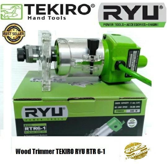 Mesin Profil Kayu Mesin Trimer Mesin Router Wood Trimmer TEKIRO RYU 6-1