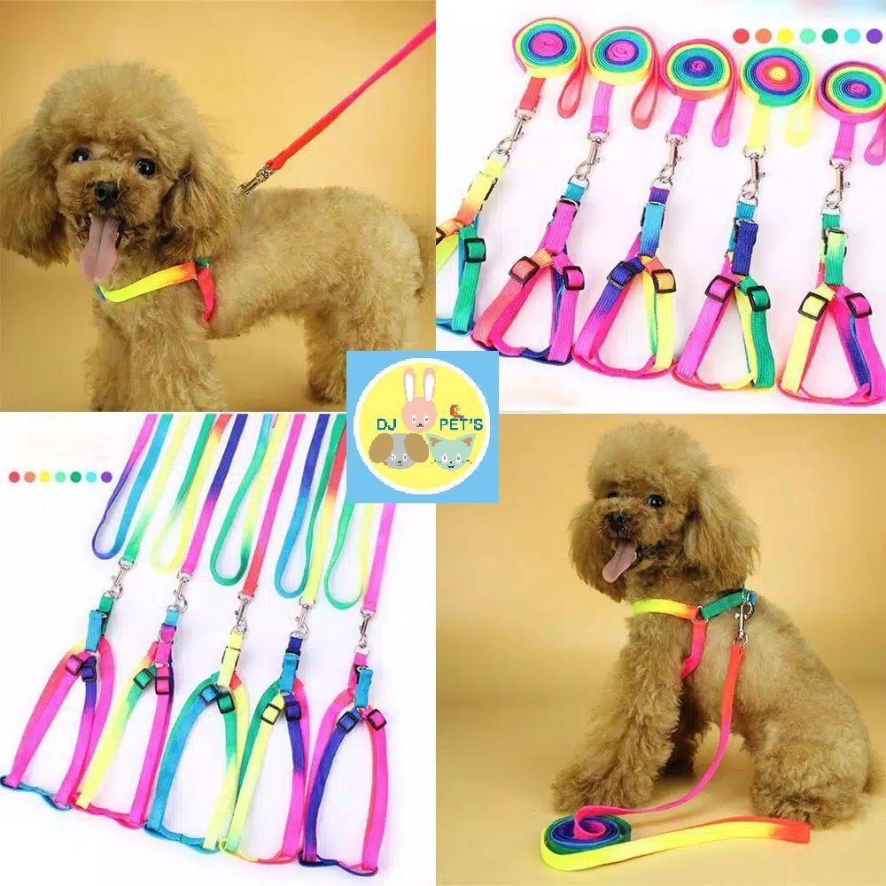 Tali tuntun anjing dan kucing dog leash PET4084