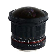 Jual Samyang Lensa 8Mm F 3 5 Aspherical If Mc Fisheye Cs Ii Ae Dh For Nikon Hitam Samyang Branded